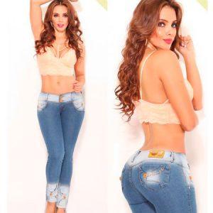 Jeans colombianos en España