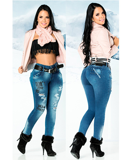 Pantalones colombianos con bolsillos