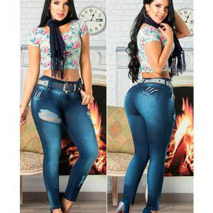 Pantalones rotos mujer