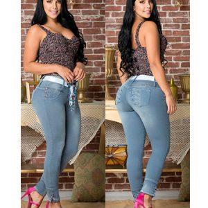 Jeans levanta cola colombianos en España.