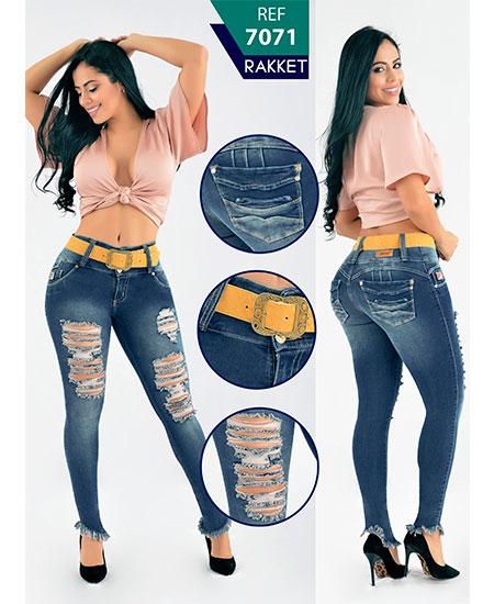 pantalón colombiano roto
